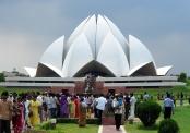 Bahaicka Świątynia Lotosu w New Delhi, Indie